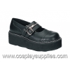 EMILY-306 Black Faux Leather